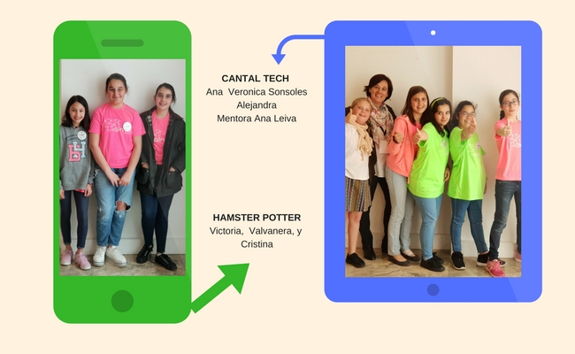 Equipos Cantal Tech y Hamster Potter