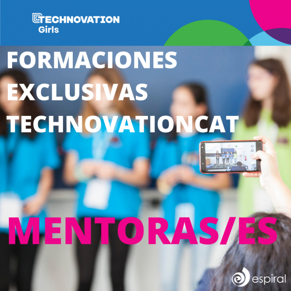 ¡Llegan las formaciones exclusivas de la nueva temporada de Technovation Girls para mentoras/es!