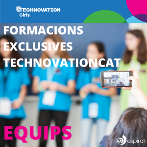 Arriben les formacions exclusives de la nova temporada de Technovation Girls per els equips!