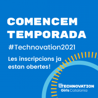 Nova temporada de Technovation Girls Catalonia, aquest any és més virtual i digital que mai!