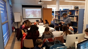 Technovation Challenge en el American Space de Barcelona